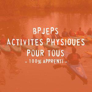 BPJEPS Activités Physiques pour Tous - 100% apprenti