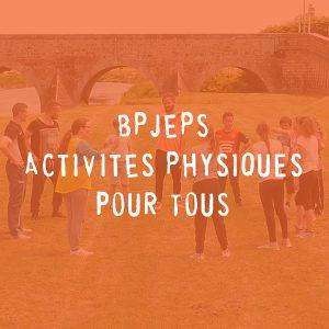 BPJEPS Activités Physiques pour Tous