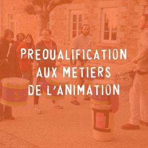 Préqualification aux Métiers de l'Animation