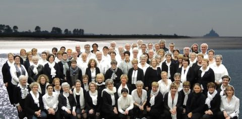 La chorale Sélun'air à Saint-Aubin