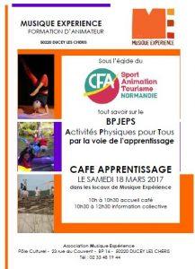 Café Apprentissage le samedi 18 mars 2017